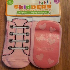 Skidders grip bottom socks